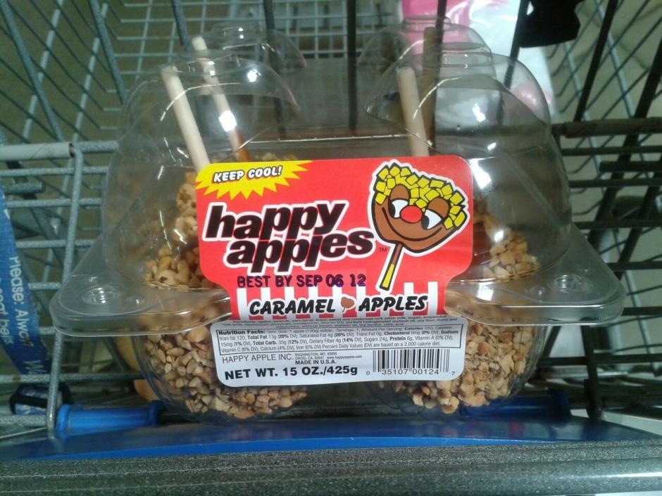 happy apples caramel apples