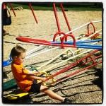 playground see-saws