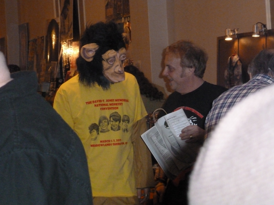 Ape at Monkee Convention