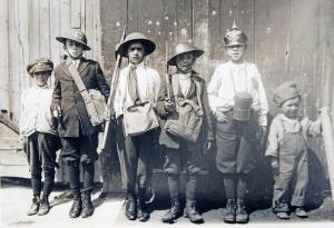 WWI kid soldiers