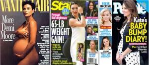 Moore, Kardashian, Duchess pregnancies