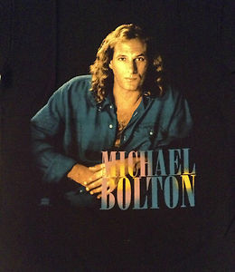michael bolton concert shirt