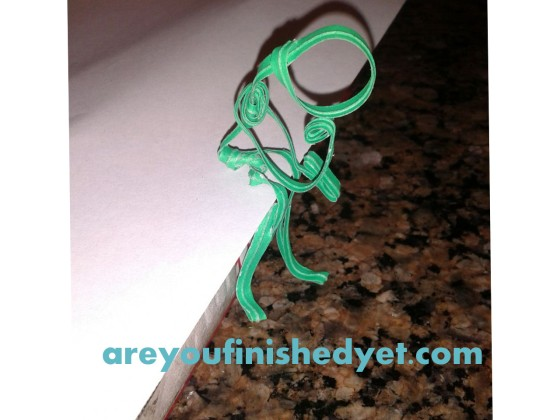 twist tie thinker