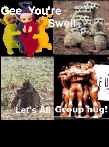 group hug award