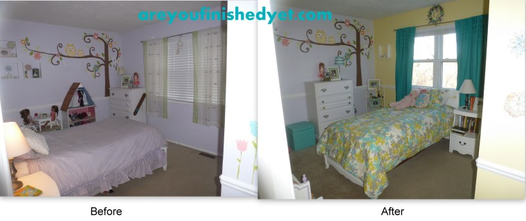 kid's room makeover