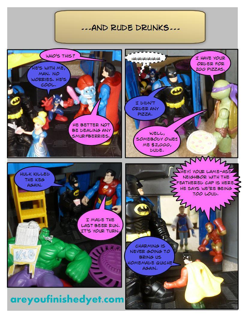 hulk batman ninja turtle superman wolverine