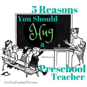 early childhood education, teacher appreciation