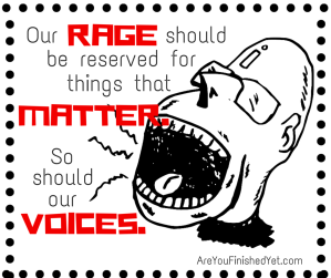 rage voices